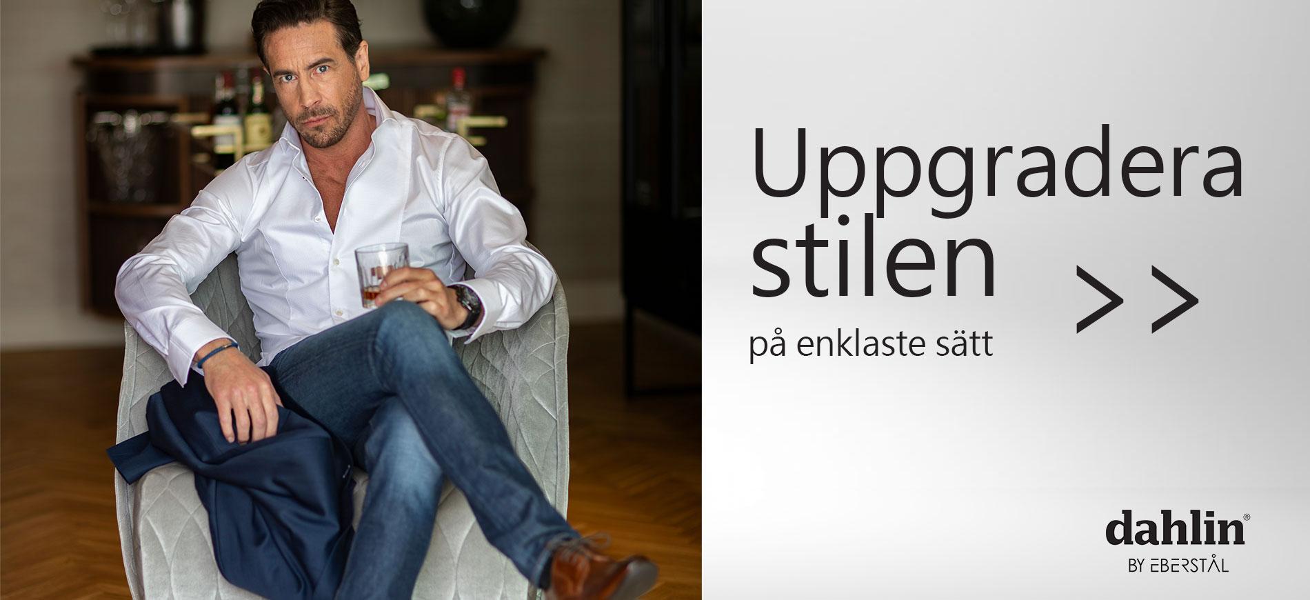 LYXIG LÄDERVÄSKA CROSS BODY - BRUN